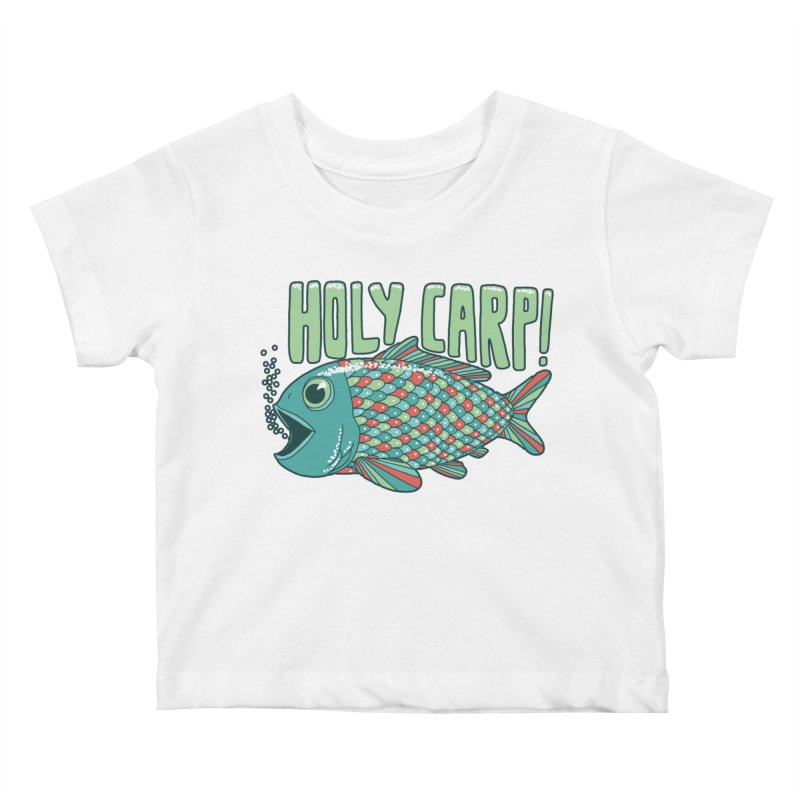 Holy Carp Kids Baby T-Shirt by SteveOramA