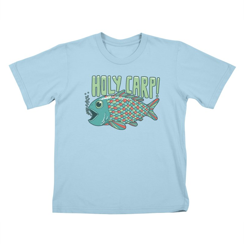 Holy Carp Kids T-Shirt by SteveOramA