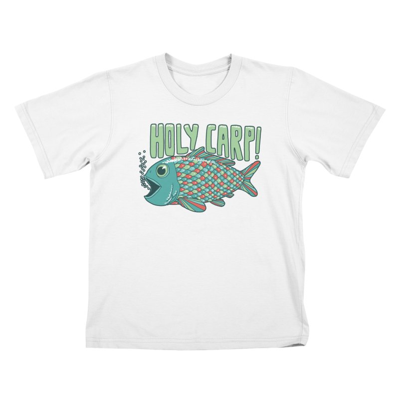 Holy Carp Kids T-Shirt by SteveOramA