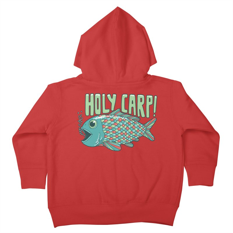 Holy Carp Kids Toddler Zip-Up Hoody by SteveOramA