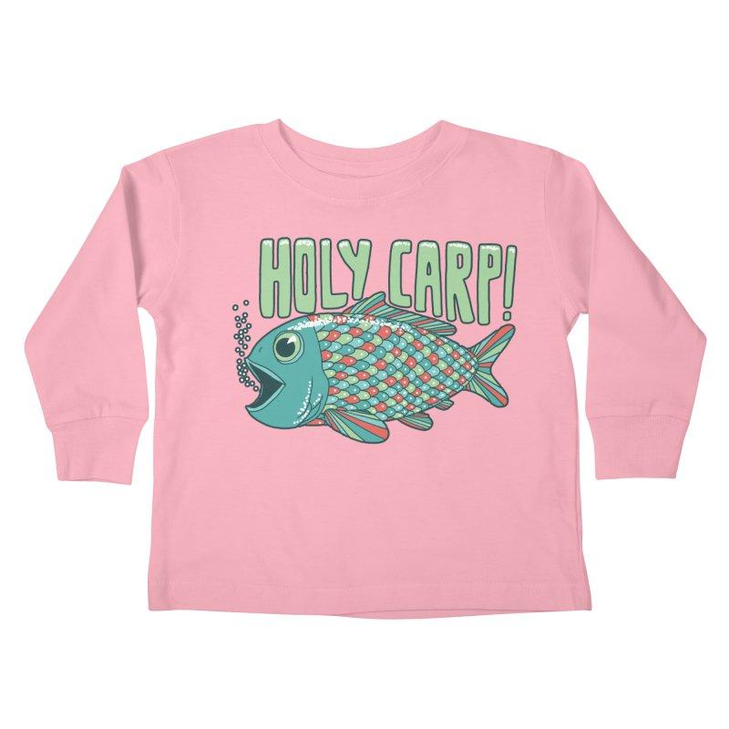 Holy Carp Kids Toddler Longsleeve T-Shirt by SteveOramA