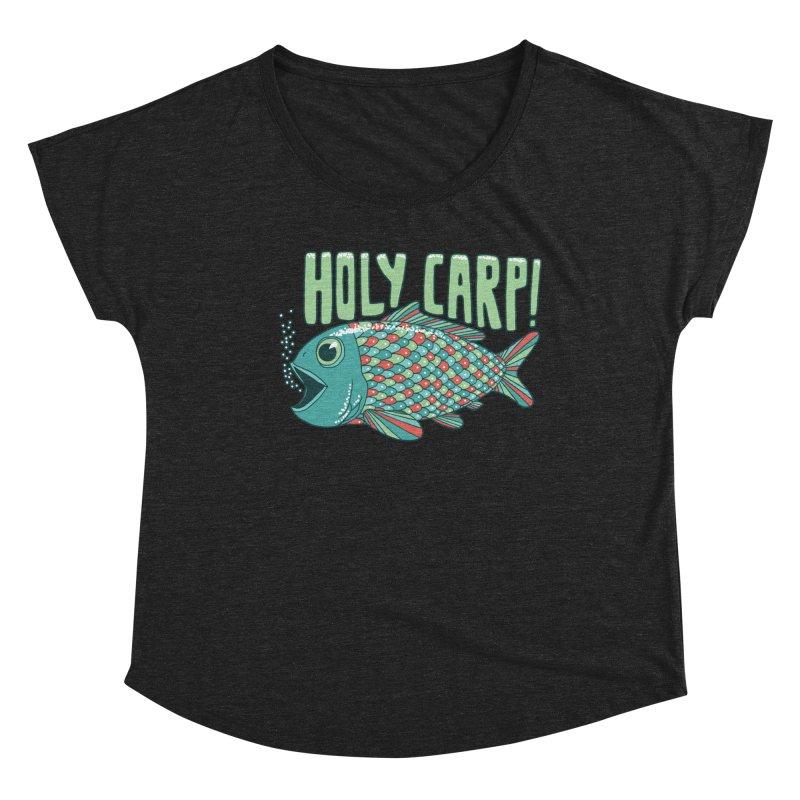 Holy Carp Women's Dolman Scoop Neck by SteveOramA