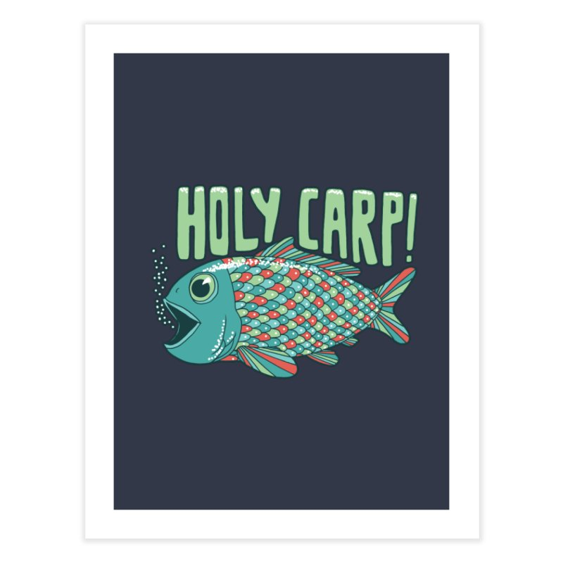 Holy Carp Home Fine Art Print by SteveOramA