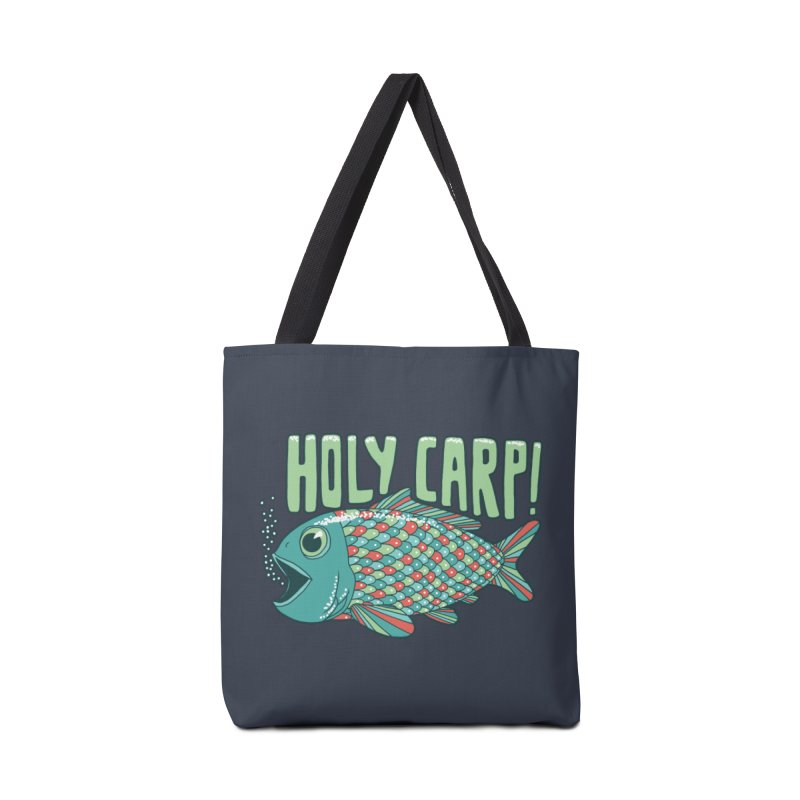 Holy Carp Accessories Tote Bag Bag by SteveOramA