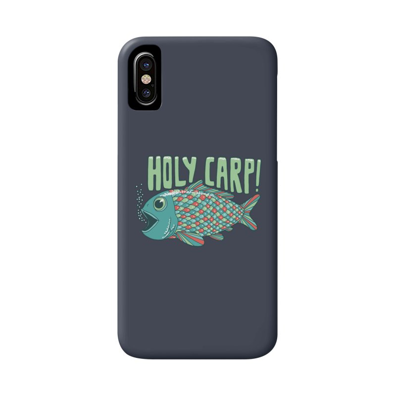 Holy Carp Accessories Phone Case by SteveOramA