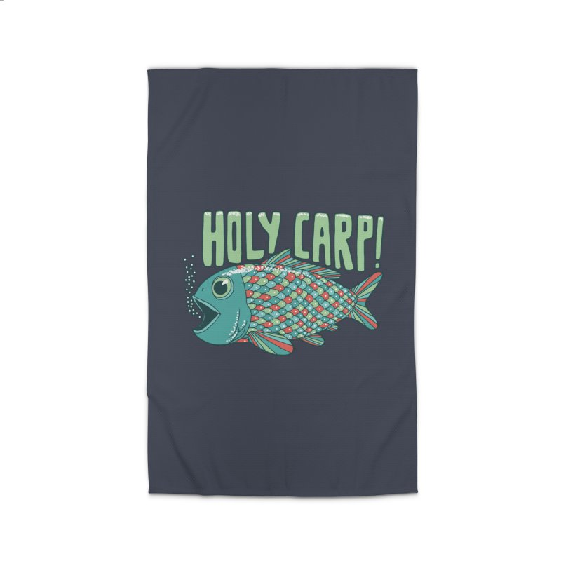 Holy Carp Home Rug by SteveOramA