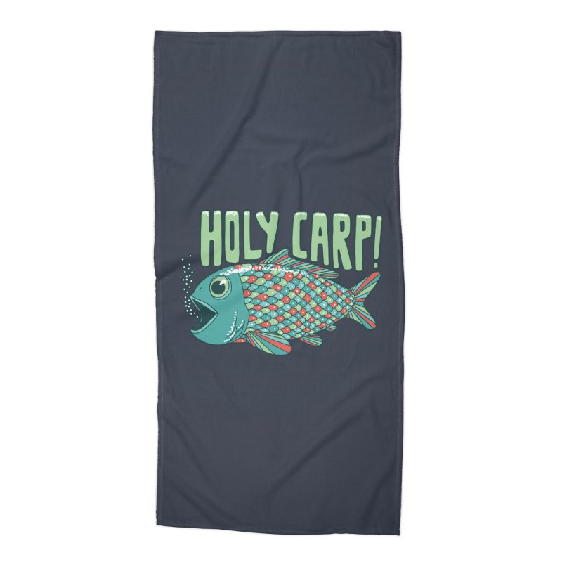 Holy Carp Accessories Beach Towel by SteveOramA