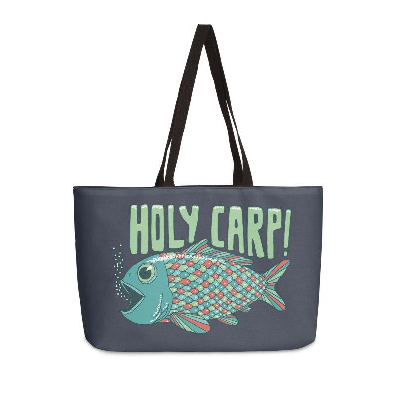 Holy Carp Accessories Weekender Bag Bag by SteveOramA