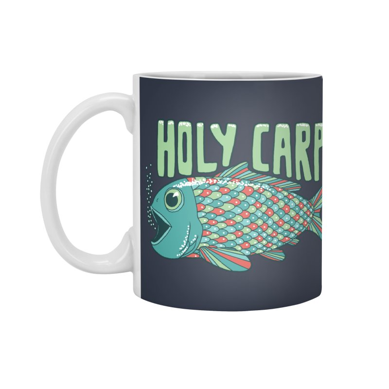 Holy Carp Accessories Mug by SteveOramA