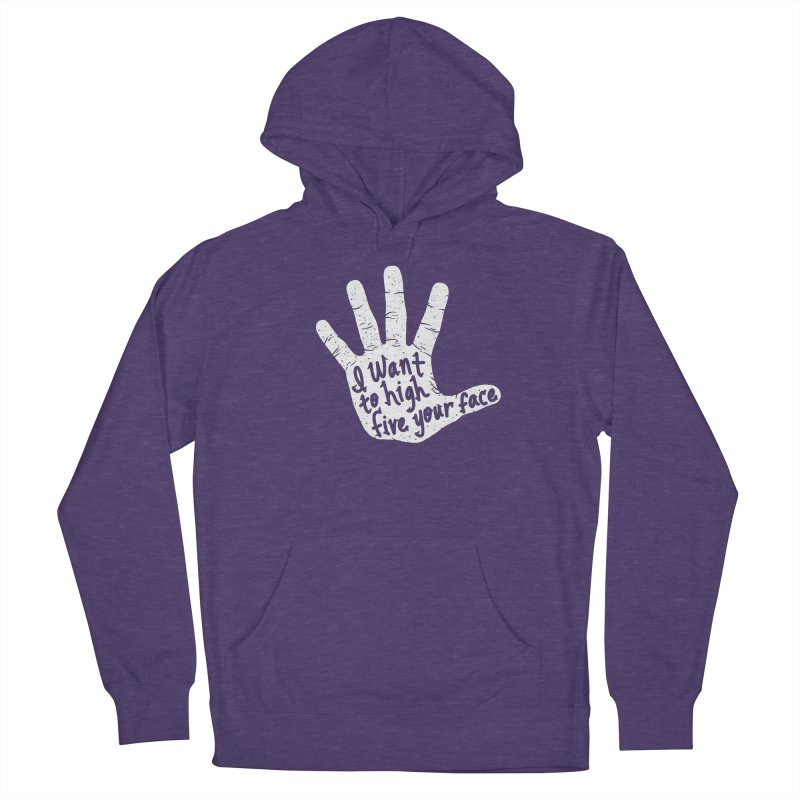 Hand to Face Men's French Terry Pullover Hoody by SteveOramA
