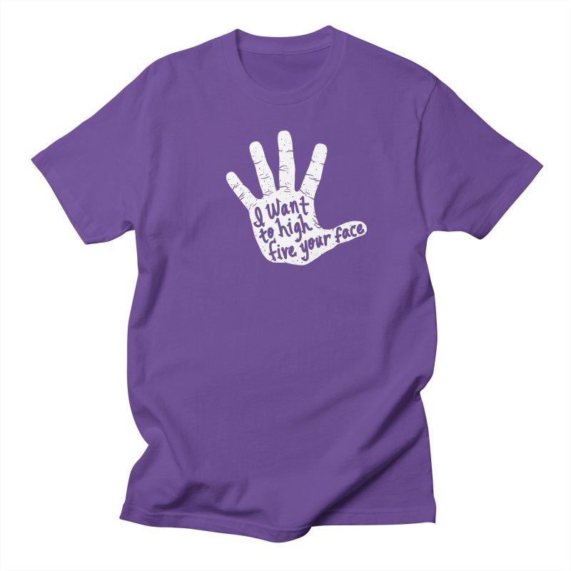 Hand to Face Men's Regular T-Shirt by SteveOramA