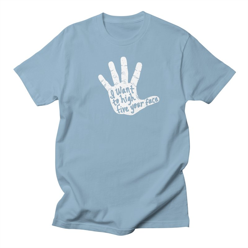Hand to Face Men's T-Shirt by SteveOramA