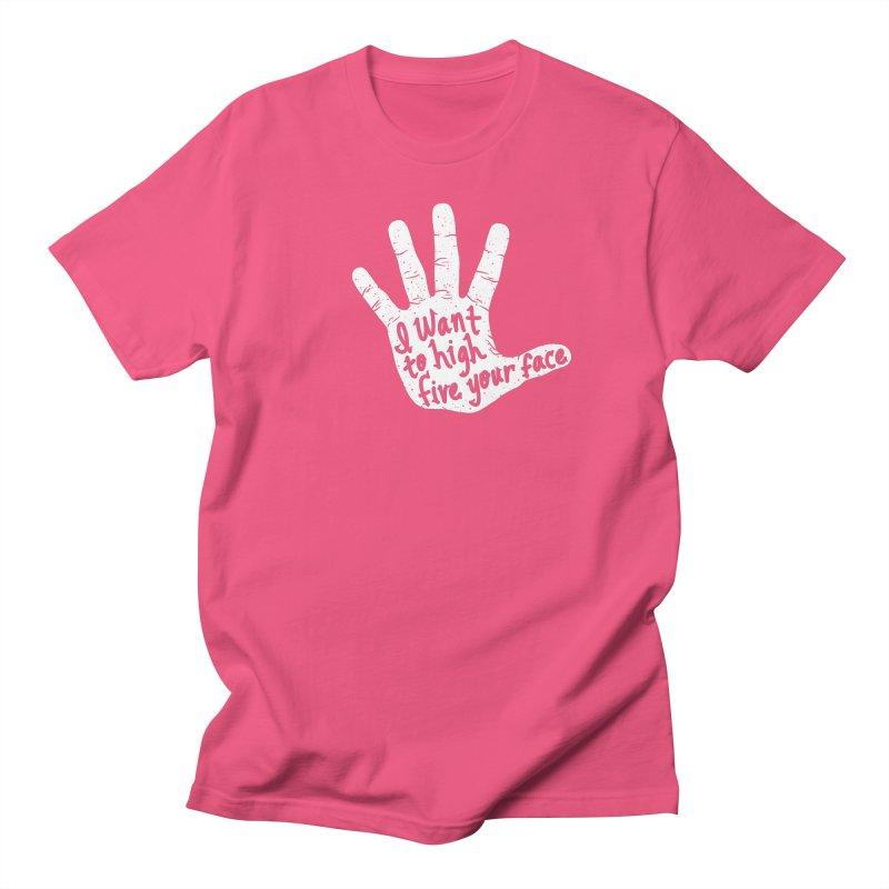 Hand to Face Women's Regular Unisex T-Shirt by SteveOramA