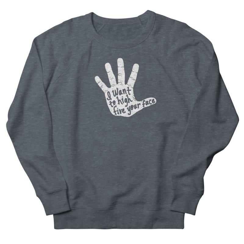 Hand to Face Women's Sweatshirt by SteveOramA