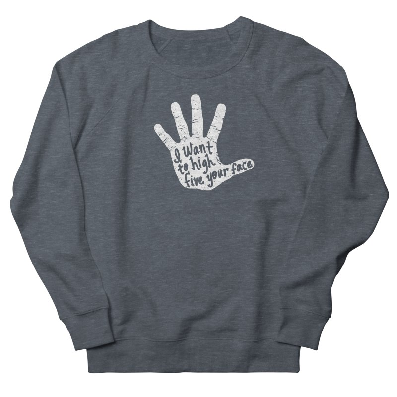 Hand to Face Men's French Terry Sweatshirt by SteveOramA
