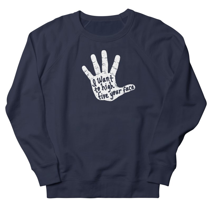 Hand to Face Men's Sweatshirt by SteveOramA