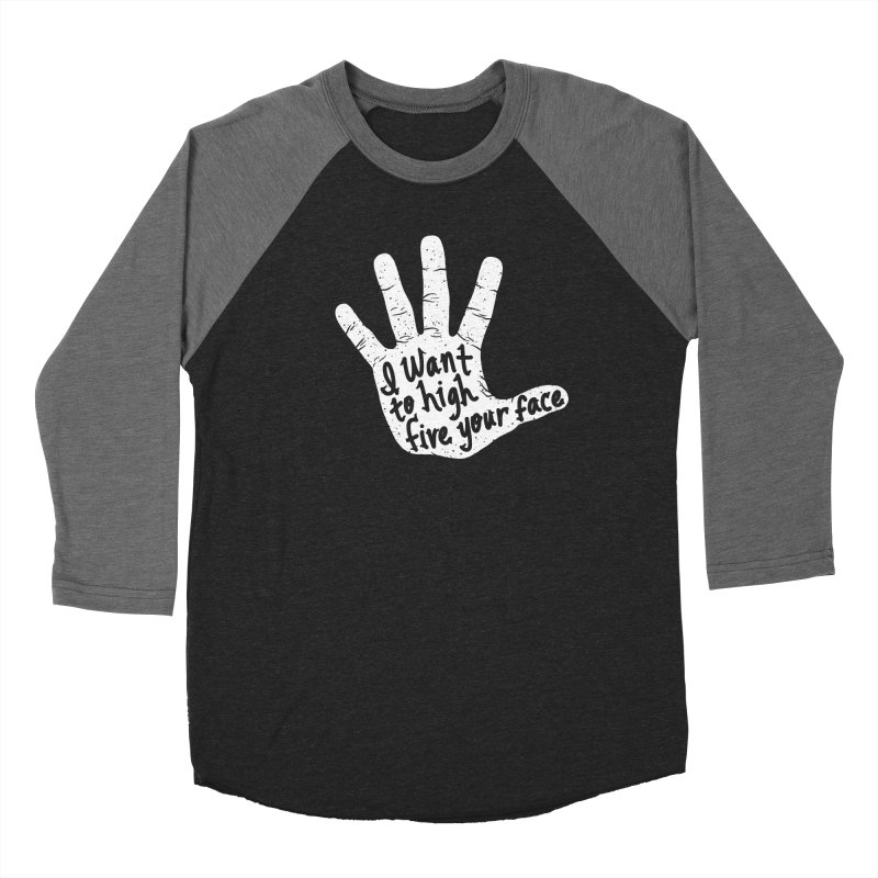 Hand to Face Men's Baseball Triblend T-Shirt by SteveOramA