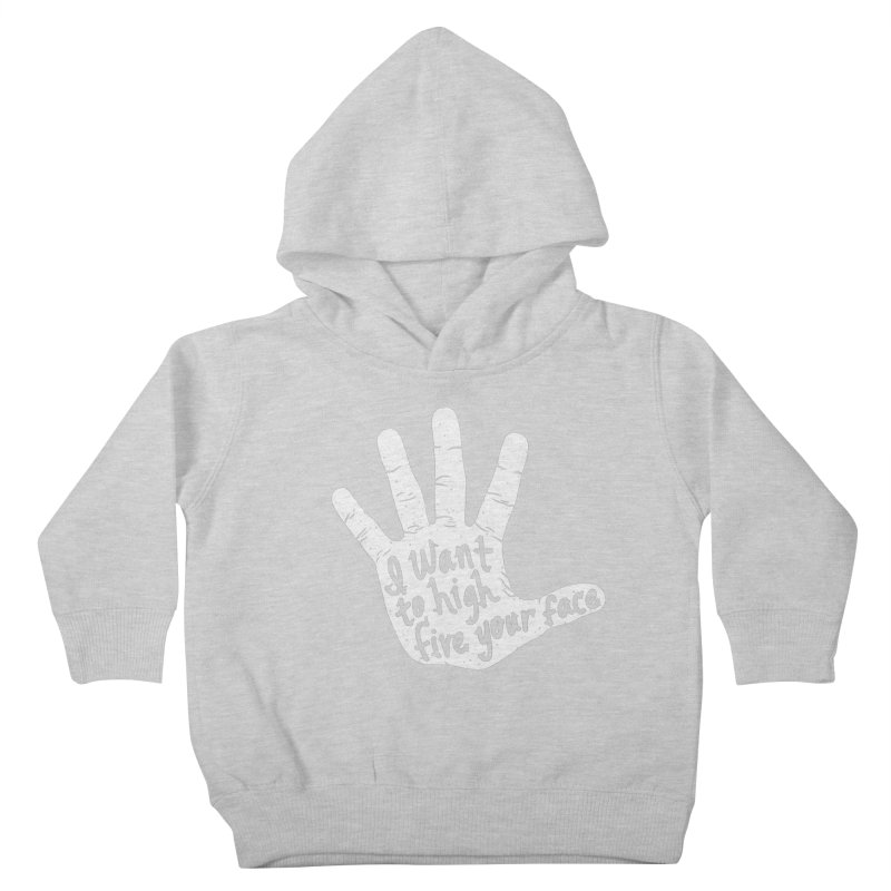 Hand to Face Kids Toddler Pullover Hoody by SteveOramA