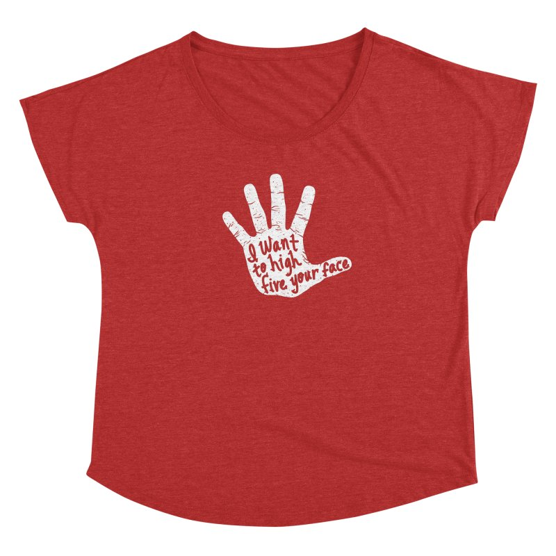 Hand to Face Women's Dolman by SteveOramA
