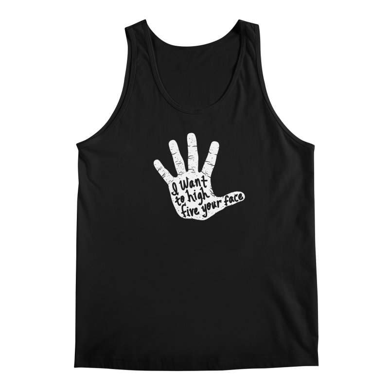 Hand to Face Men's Tank by SteveOramA