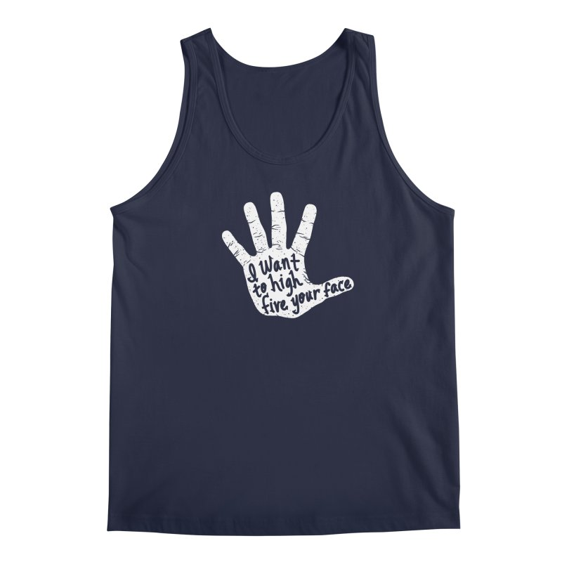 Hand to Face Men's Regular Tank by SteveOramA