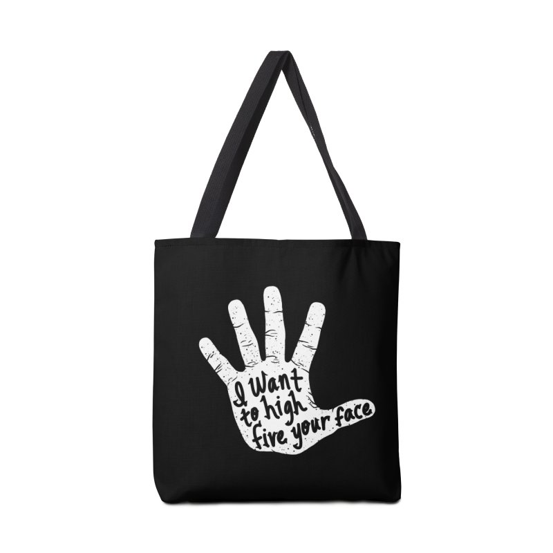 Hand to Face Accessories Tote Bag Bag by SteveOramA