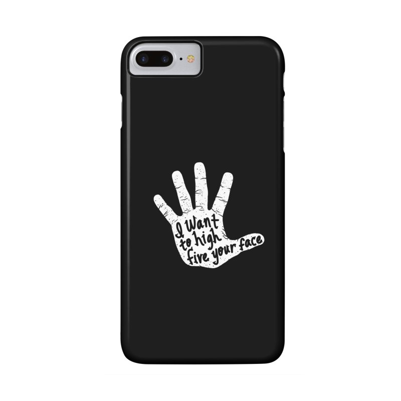 Hand to Face Accessories Phone Case by SteveOramA