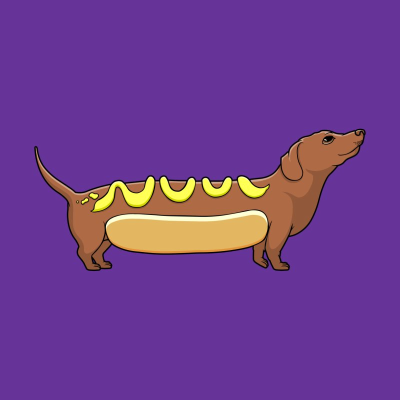 Weinerdog Men's T-Shirt by SteveOramA