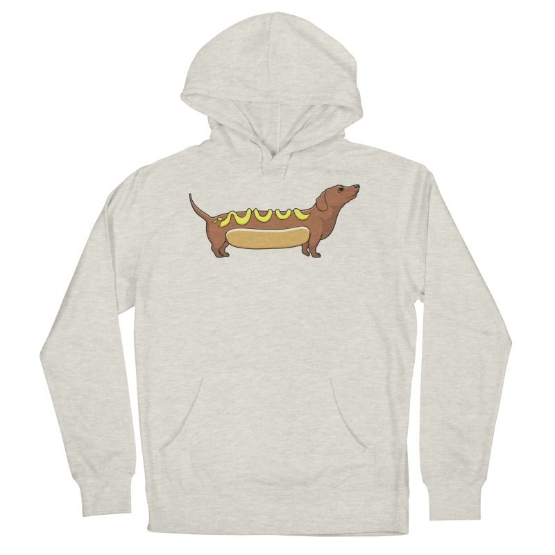 Weinerdog Women's French Terry Pullover Hoody by SteveOramA