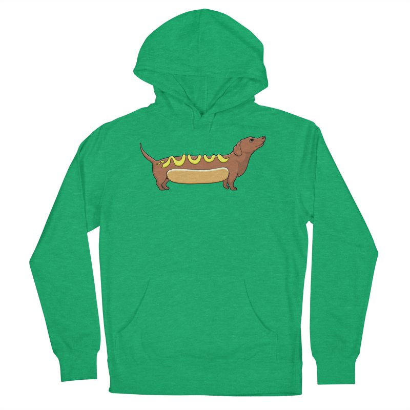 Weinerdog Men's French Terry Pullover Hoody by SteveOramA