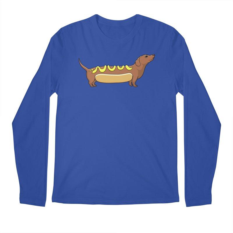 Weinerdog Men's Regular Longsleeve T-Shirt by SteveOramA