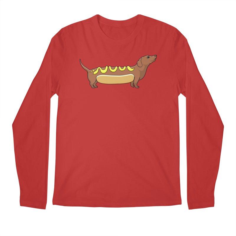 Weinerdog Men's Longsleeve T-Shirt by SteveOramA