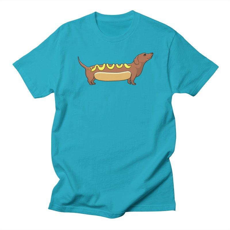 Weinerdog Women's Unisex T-Shirt by SteveOramA