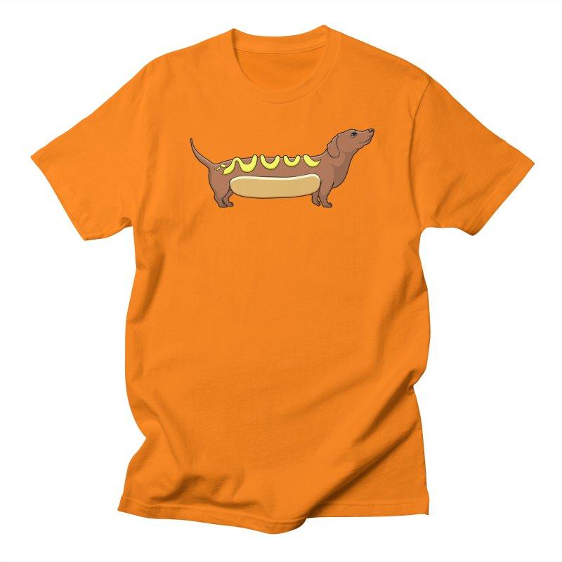 Weinerdog Men's Regular T-Shirt by SteveOramA