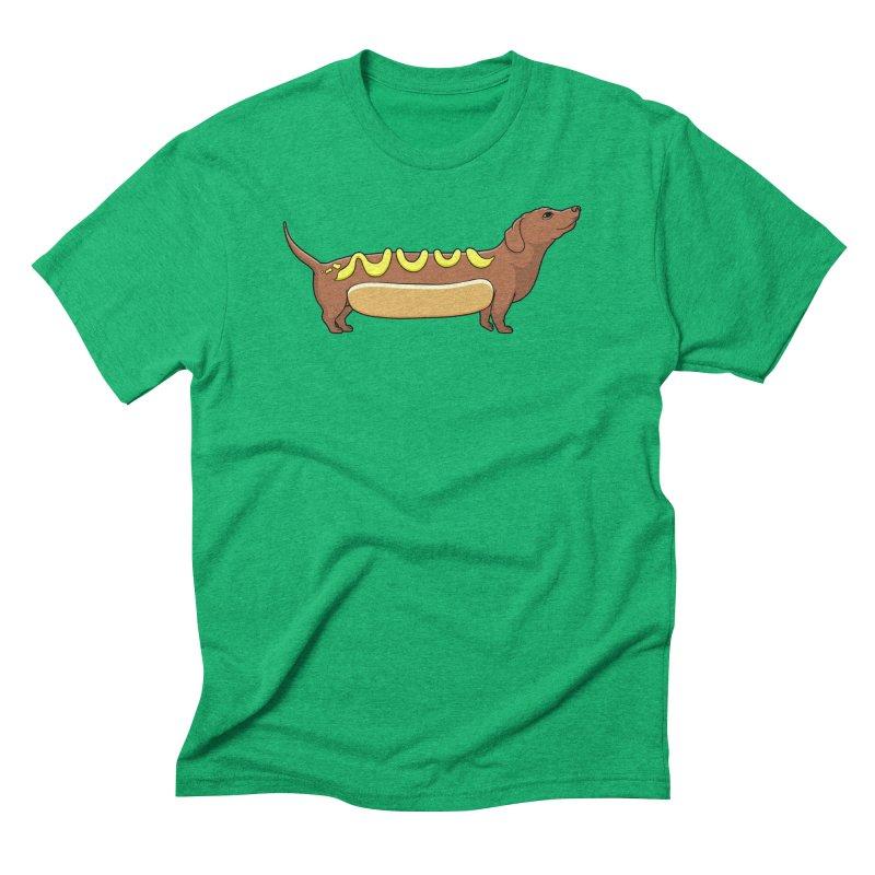Weinerdog Men's Triblend T-Shirt by SteveOramA
