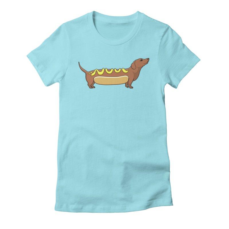 Weinerdog Women's Fitted T-Shirt by SteveOramA