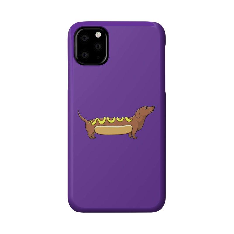 Weinerdog Accessories Phone Case by SteveOramA