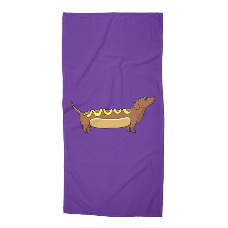 Weinerdog Accessories Beach Towel by SteveOramA