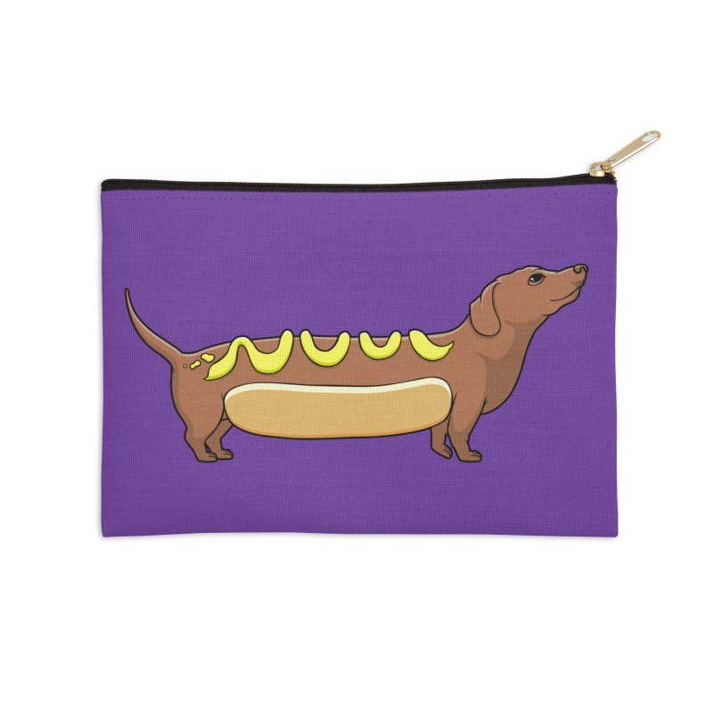 Weinerdog Accessories Zip Pouch by SteveOramA