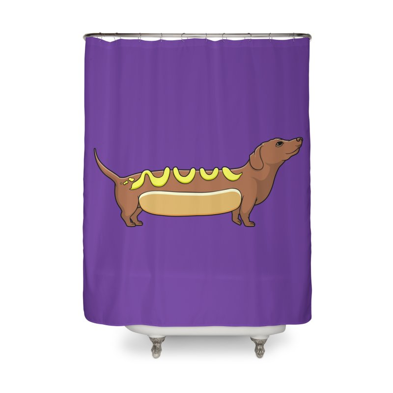 Weinerdog Home Shower Curtain by SteveOramA