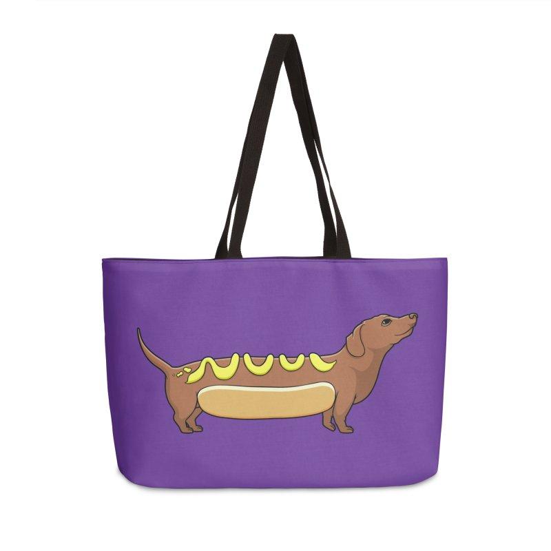 Weinerdog Accessories Weekender Bag Bag by SteveOramA
