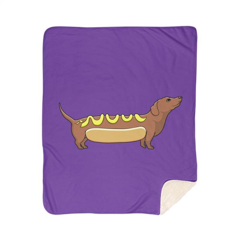 Weinerdog Home Sherpa Blanket Blanket by SteveOramA