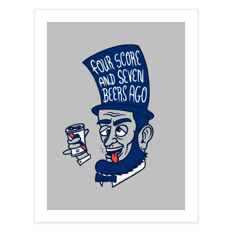 Abe Drincoln Home Fine Art Print by SteveOramA