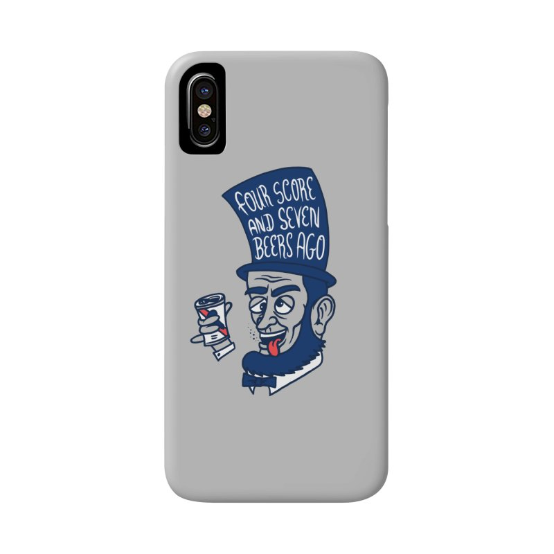 Abe Drincoln Accessories Phone Case by SteveOramA