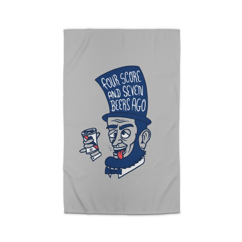 Abe Drincoln Home Rug by SteveOramA