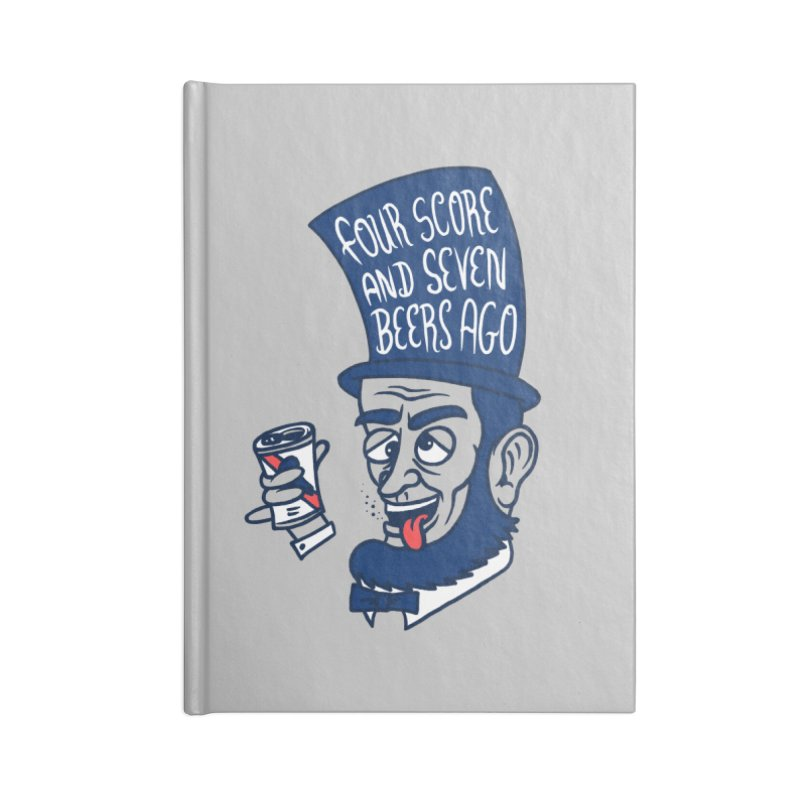Abe Drincoln Accessories Notebook by SteveOramA