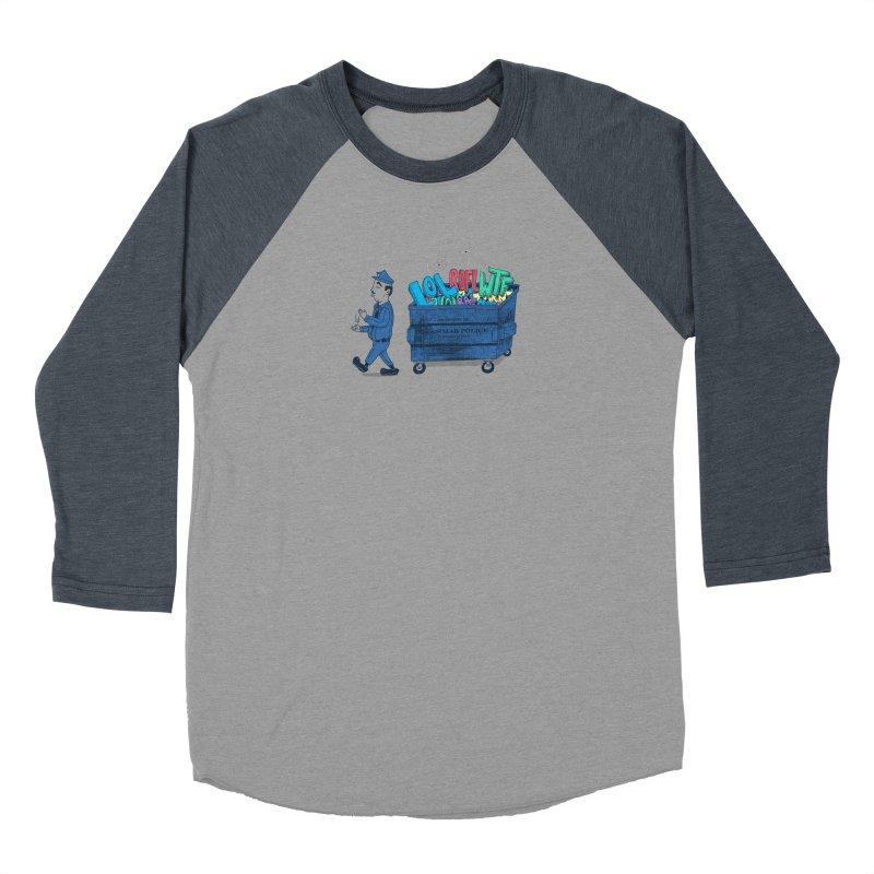 Grammar Police 2 Women's Baseball Triblend Longsleeve T-Shirt by SteveOramA