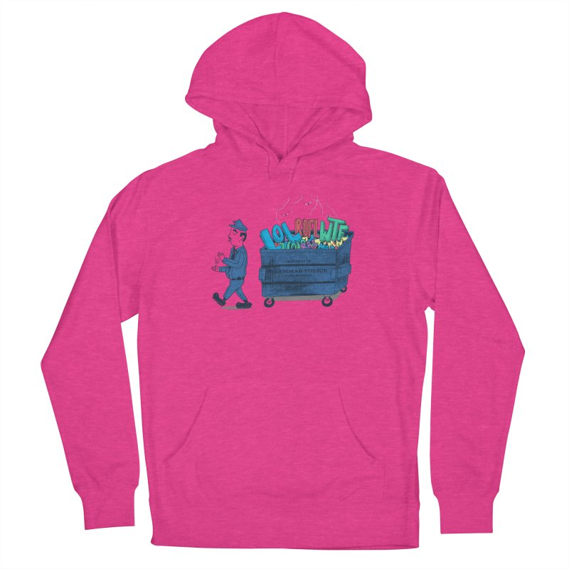 Grammar Police 2 Women's French Terry Pullover Hoody by SteveOramA