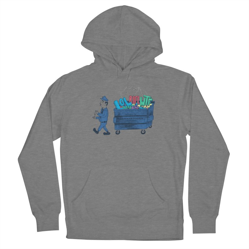 Grammar Police 2 Men's French Terry Pullover Hoody by SteveOramA