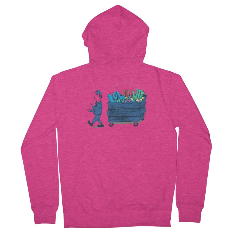 Grammar Police 2 Women's Zip-Up Hoody by SteveOramA